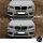 2x Kühlergrill SET Schwarz Hochglanz Sport Doppelsteg passend für BMW X3 F25 10-