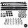 Set Trittbretter Schweller Aluminium +Montagekit passt für BMW X5 F15 F85 Bj13->