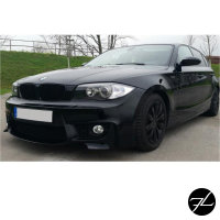 Sport Front Stoßstange passt für 1er BMW E81 E82 E87 E88 auch M+NSW Chrom+ ABE*