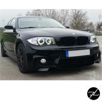 Sport Stoßstange vorne PDC/SRA passt für BMW 1er E81 E82 E87 E88 + Grill + ABE*