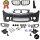 ABE Sport Stoßstange vorne PDC passt für BMW E81 E82 E87 E88 +Grill +Nebel Smoke