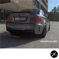 Sport Stoßstange hinten für PDC +Duplex Diffusor passt für BMW 1er E82 E88 +ABE*