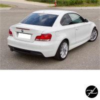 Sport Stoßstange Hinten ohne PDC grundiert passt für BMW 1er E82 E88 Coupe Cabriolet Serie & M-Paket