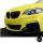 Sport-Performance Kühlergrill Grill Schwarz Glänzend passend für BMW 2er F22 F23 + M-Paket 14>