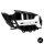 Sport-Panamericana GT Kühlergrill Silber passend für Mercedes E Klasse W213 S213 Umbau ab 2016