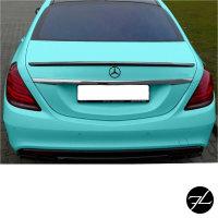 SET Heckspoiler Kofferraum ABS passend für Mercedes S-Klasse W222 Bj. 13-17 für S63 AMG + 3M
