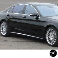 Seitenschweller SET Langversion passt für Mercedes S-Klasse W222 Serie auch S65 S63 AMG 13-17
