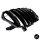 Sport -Panamericana GT Facelift Kühlergrill Komplett Schwarz passend für Mercedes A-Klasse W176 Mopf 2015-2019