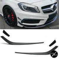 Spoiler Flaps Flips +passend für Mercedes CLA-Klasse W117 AMG Line nicht für CLA A45 Aero