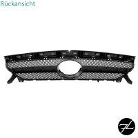 Sport Kühlergrill Schwarz Glanz passt für Mercedes CLA Mopf W117 C117 X117 16-19