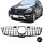Facelift Sport-Panamericana GT Kühlergrill Schwarz Chrom passt für Mercedes ML-Klasse W166 Bj 11-14