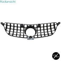 Sport-Panamericana GT Kühlergrill Schwarz glänzend passt für Mercedes GLE C292 Coupe ab 15-19