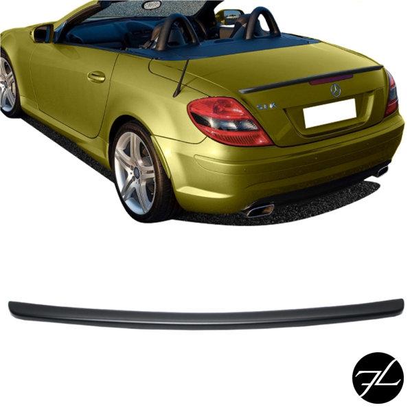 Kofferraumspoiler Heckspoiler Schwarz Matt Spoiler passend für Mercedes SLK R171 auch AMG 04-11