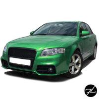 Sport Stoßstange vorne + Kühlergrill Wabendesign passt für Audi A4 B7 ab 04-08