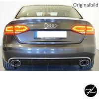 Set Diffusor Stoßstange  +Auspuffblende für RS4 Modelle passend für Audi A4 B8 8K bj.07-11