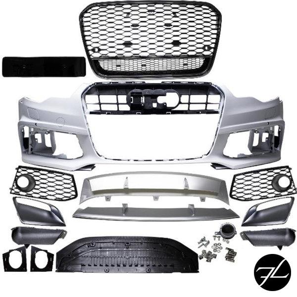 Stoßstange vorne PDC/SRA + Zubehör passt für Audi A6 4G C7 ab 2011-2015 kein RS6