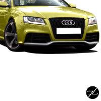 Stoßstange vorne Wabengrill Kühlergrill passt für Audi A5 8T ab 07-12 kein RS5