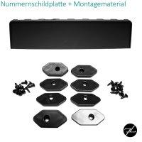 Kühlergrill Wabendesign hochglanz Schwarz passt für Audi A5 8T Facelift 11-17
