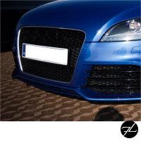 Kühlergrill Wabengrill Schwarz glanz passt für Audi TT 8J 06-16 ohne RS Emblem