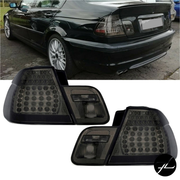 LED Rückleuchten Smoke Facelift Design4lg. passt für BMW 3er E46 Limousine 98-01