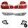 FACELIFT Set  Rot Weiß Rückleuchten +Blinker Seite +Front 01-05 passt für BMW 3er E46 Limousine