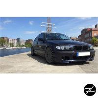 SET Stoßstange vorne +Nebel Smoke Set + Grill Schwarz passt für BMW 3er E46 98-01+ABE*