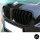 SET Kühlergrill Grill Schwarz Glanz Doppelsteg passend für BMW F10 F11 auch M M5