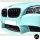 2x Kühlergrill Grill Schwarz MATT Doppelsteg passend für BMW F10 F11 auch M M5