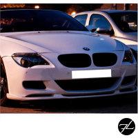 SET Doppelsteg Kühlergrill Schwarz GLANZ Performance passt für BMW E63 E64 02-10