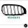 2x Kühlergrill Schwarz Matt Doppelsteg passend für BMW 3er F34 Gran Turismo +  M