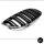 2X Doppelsteg Kühlergrill Schwarz Matt passend für BMW E92/E93 bj. 06-10 auch M