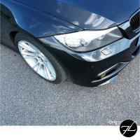 LCI Satz Flaps Stoßstangenspoiler Splitter Lippe passend für BMW E90 E91 LCI