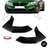 Sport-Performance Flaps Ecken SET passt für BMW 3er 4er F80 F82 M3 M4 Stoßstange