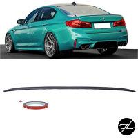 Sport-Performance Heckspoiler Hecklippe Schwarz Matt passend für BMW G30 ab 2017