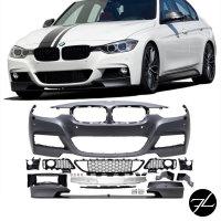 Sport-Peformance Bodykit Stoßstange passend für BMW F30 335 Umbau Zubehör + ABE