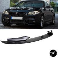 SET Spoiler vorne+ Doppelsteg Grill Schwarz passt für BMW 5er F10 F11 M-Paket