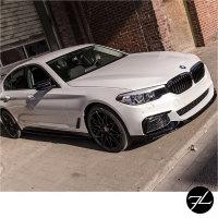 Set Sport-Performance Umrüstkit Hochglanz Schwarz Front+Heck+Seite passend für BMW 5er G30 M-Paket 17>