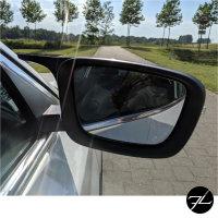 Sport Spiegelkappen Außenspiegel Set Schwarz Glanz passt für BMW G30 G31 G11 G12