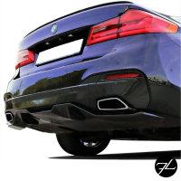 Heckdiffusor Sport-Performance + Ansatz unten passt für BMW G30 G31 mit M-Paket