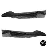 Set Sport-Performance Frontspoiler Flaps Carbon Glanz...