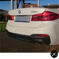 Sport Umbau Stoßstange Hinten PDC+ Zubehör passt für BMW 5er G30 auch M-Paket +ABE