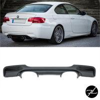 Diffusor hinten 4-Rohr passt für BMW E92 E93 mit...