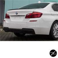 SET LACKIERT Diffusor Sport-Performance 2-Rohr Links Schwarz Glanz passend für BMW F10 F11 nur M-Paket