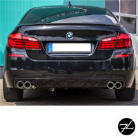 Sport-Performance Heckdiffusor Schwarz Glanz passt für BMW F10 F11 M-Paket M550