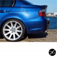 LACKIERT Heckspoiler Kofferraum Glanz Schwarz passt für BMW E90 Limousine 05-11