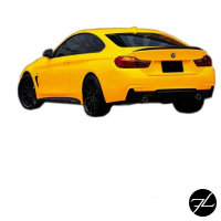 Heckspoiler Sport-Performance Shadow Line LACKIERT passend für BMW F32 +3M +ABE