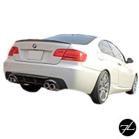 Set LACKIERT Heckspoiler Spoilerlippe ab Bj 06-10 passt für BMW E92 Coupe 3M Hochglanz Schwarz