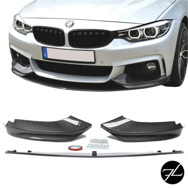 Frontspoiler Sport-Performance Carbon Glanz passend für BMW 4er F32 F33 F36 M-Paket