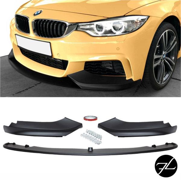 Frontspoiler Schwarz Sport-Performance passend für BMW F32 F33 F36 mit M-Paket