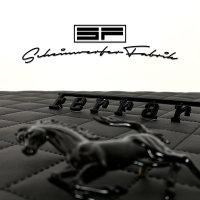 Lackierung Fahrzeug Embleme Leisten - Ferrari - Logos, Zeichen, Beschriftung, Badges Sonderfarbe Matt/Glanz 1 Teil